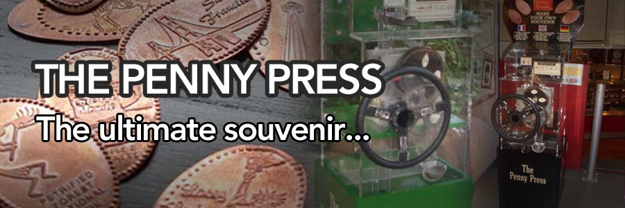 The Penny Press, the ultimate souvenir