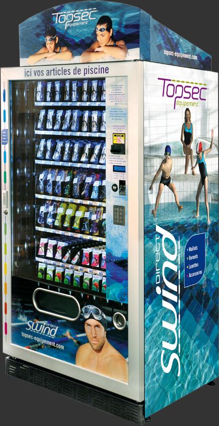 Topsec swimwear Vending